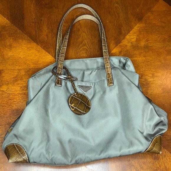 08bb159c0a1e Prada Bags | Authentic Tessuto Nylon Shopping Tote Br2684 | Poshmark